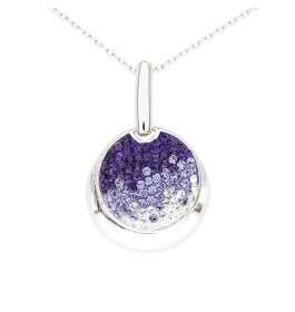 Charming Loop Pendant with Crystals from Swarovski®