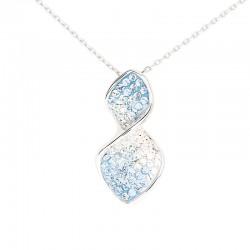 Elegant Twist Pendant with Crystals from Swarovski®