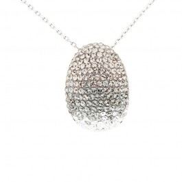Elegant Classic Shroud Pendant with Crystals from Swarovski®