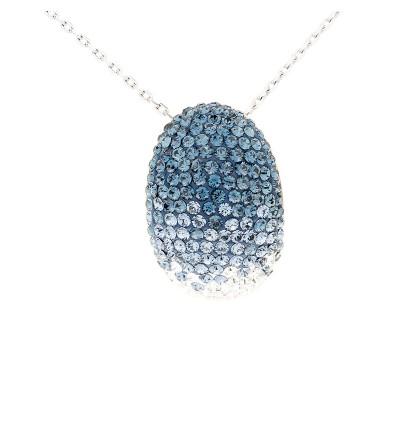 Elegant Classic Shroud Pendant with Crystals from Swarovski®