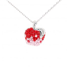 Apple of My Eyes Pendant with Crystals from Swarovski®