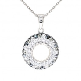 Subtle Sphere Pendant with Crystals from Swarovski®