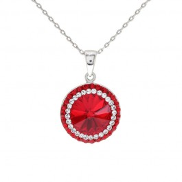 Charming Balinese Pendant with Crystals from Swarovski®