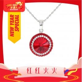 [Ang Ang!] Charming Balinese Pendant with Crystals from Swarovski®