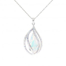 Alluring Venus Tear Pendant with Crystals from Swarovski®