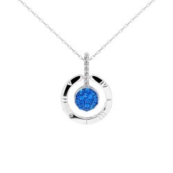 4 In 1 Tick-Tock Pendant with Crystals from Swarovski®