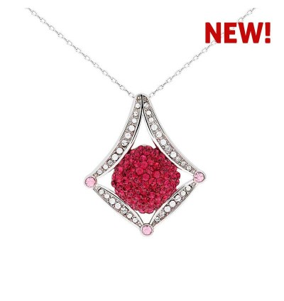 Royal Night Gown Pendant with Crystals from Swarovski®