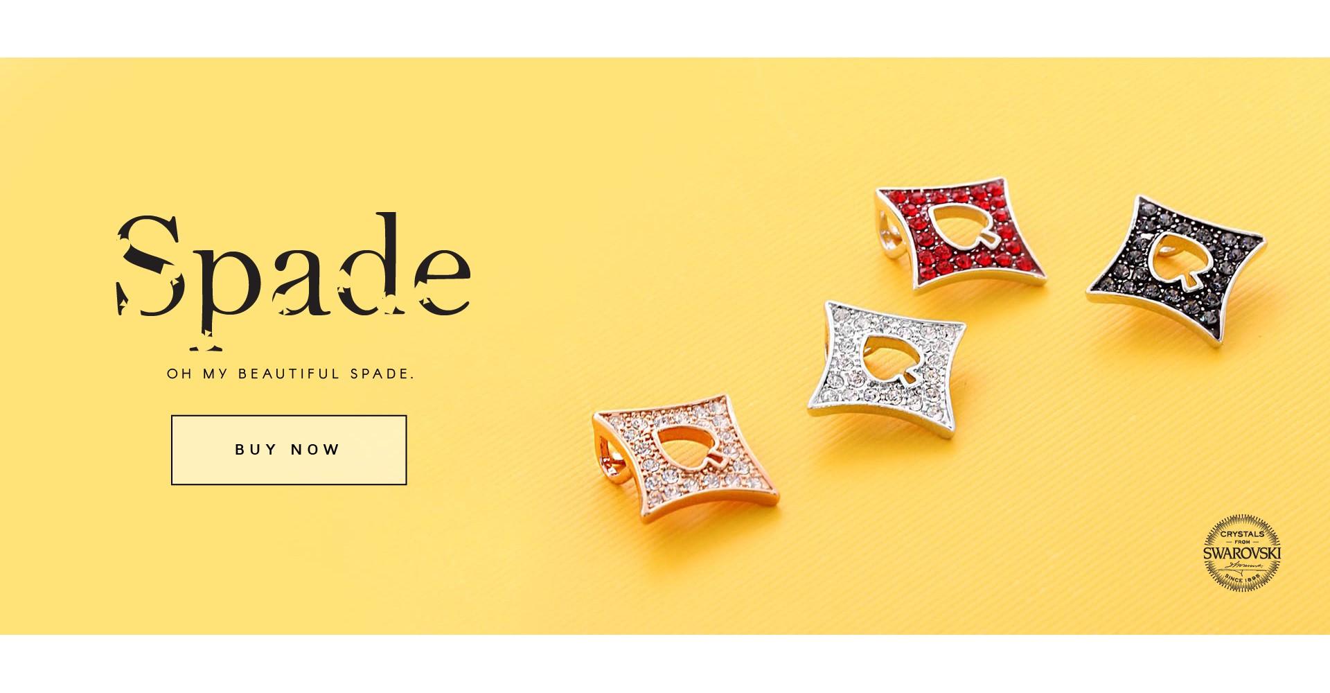 Spade Pendant